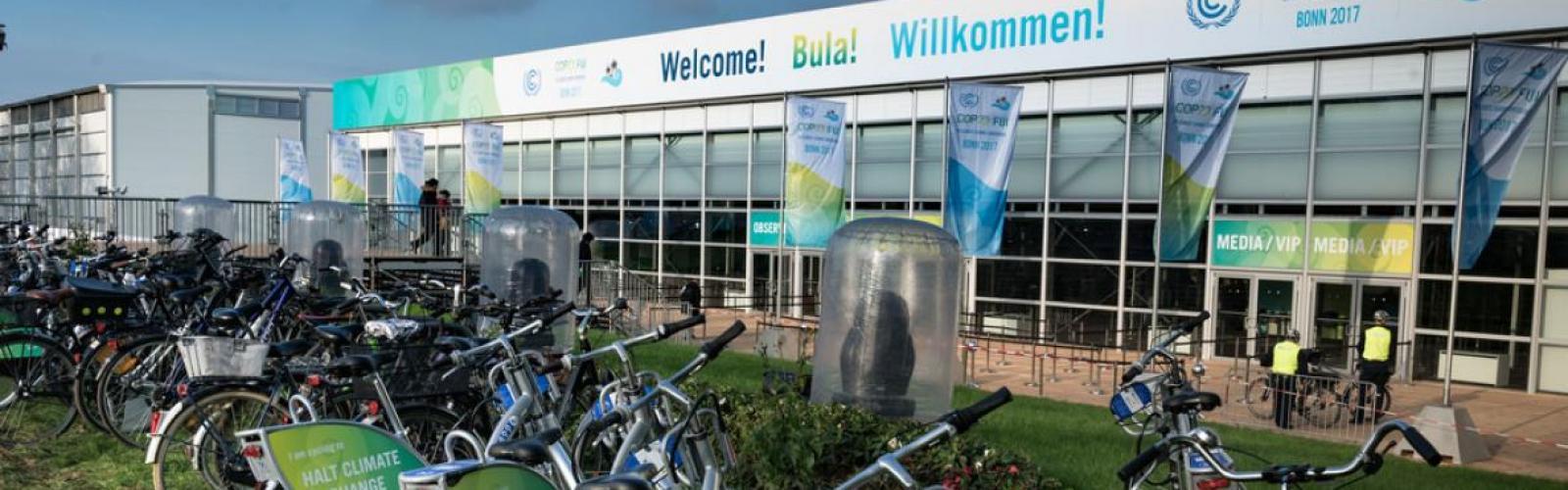 Banner Klimaattop COP23